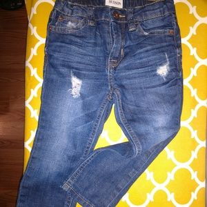 Hudson Jeans Size 24 Months Destroyed Denim Skinny